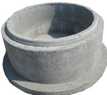 Kręgi betonowe z dnem.